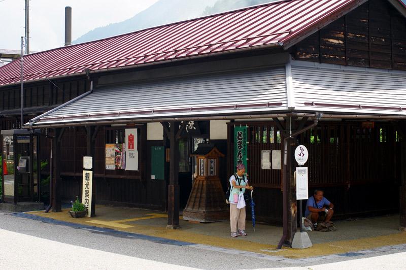奈良井駅待合室