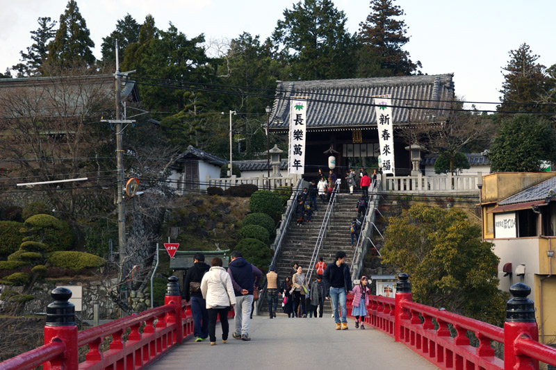 多田神社_神橋からの景観