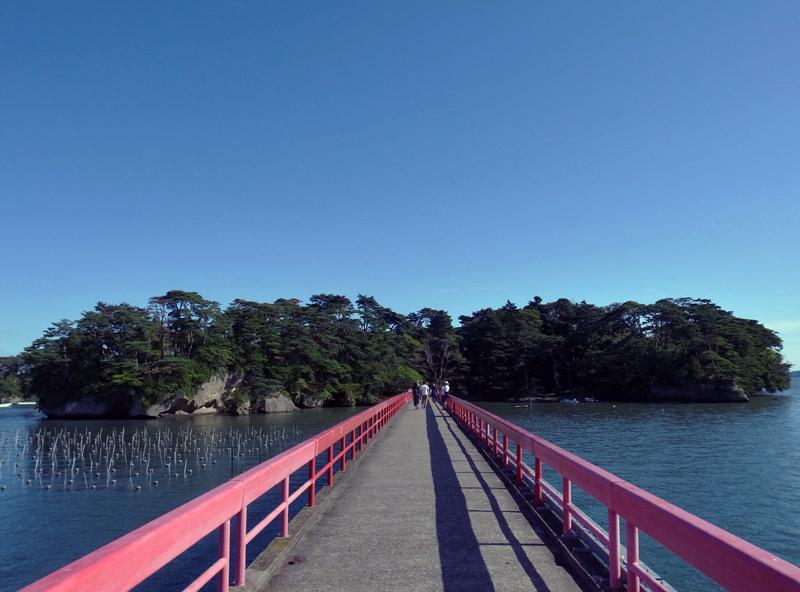 福浦橋越しの福浦島