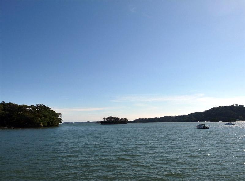 福浦橋から見える景色