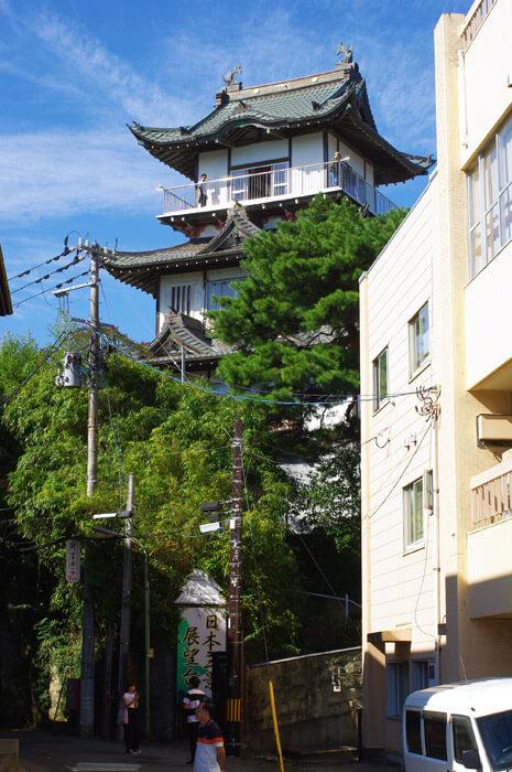 日本三景展望台松島城