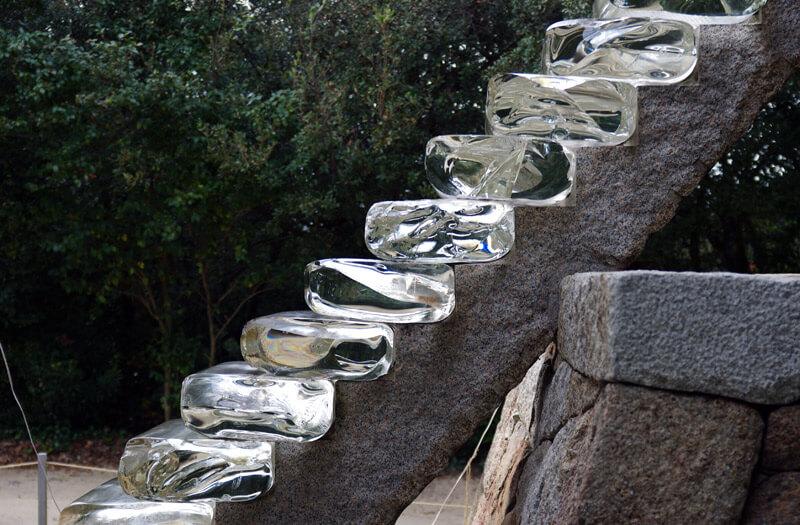 護王神社_ガラスの階段
