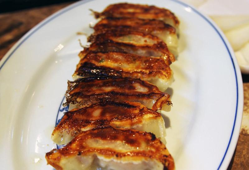 ラーメン小金太の餃子