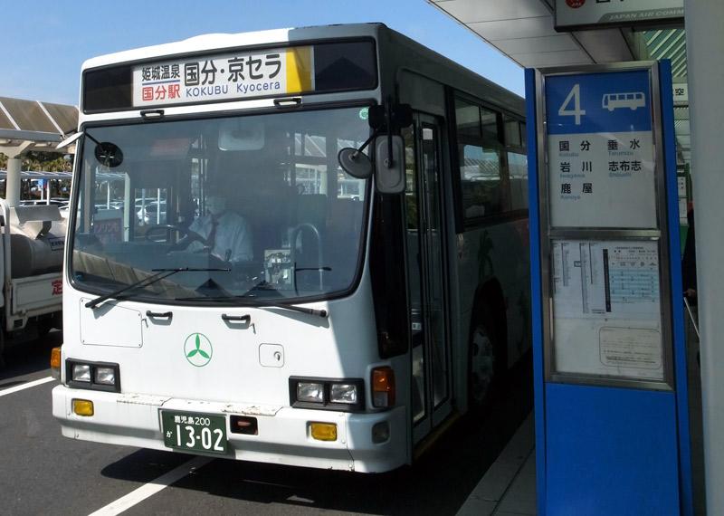 鹿児島空港_バス停4番乗り場