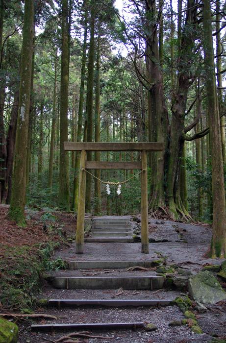 霧島神宮_山神社の鳥居