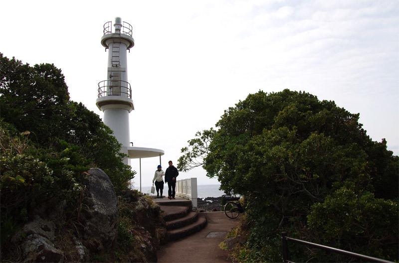 長崎鼻灯台に到着