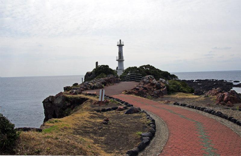 長崎鼻灯台までの道のり