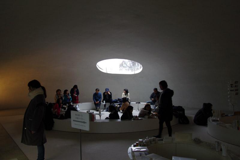 豊島美術館_カフェ&ショップ