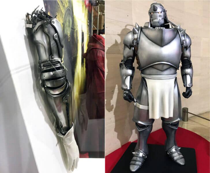 鋼の錬金術師展_オートメイル