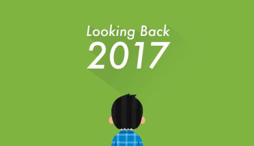 【2017年 → 2018年】今年1年の振り返りと来年の目標について