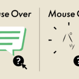 特定の項目に力ーソルをのせた時に吹き出しのようなツールチップを表示させる方法について
