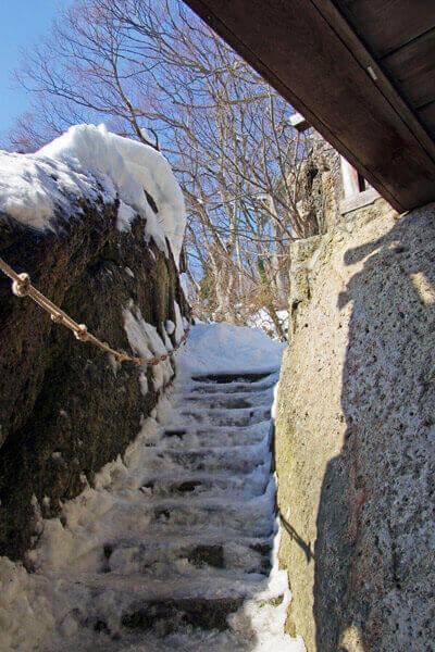 五大堂へ向かう階段