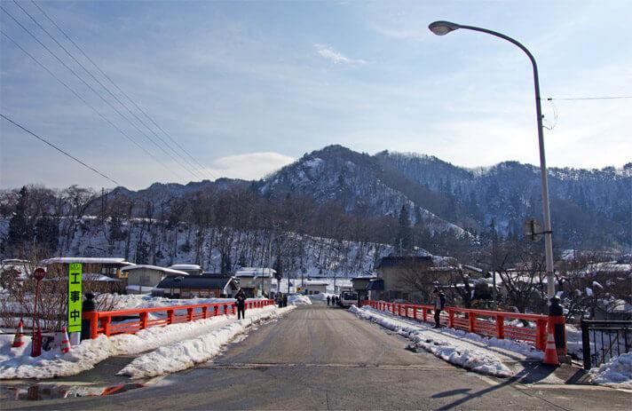 山寺の登山口にまでの道のり