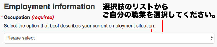 Select the option that best describes your current employment situation.