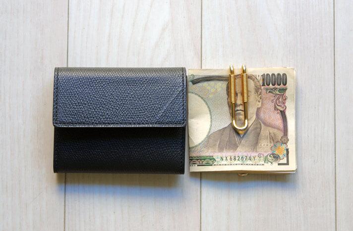 カミーユフォルネのコインケースとエドロバートジャドソンのマネークリップ