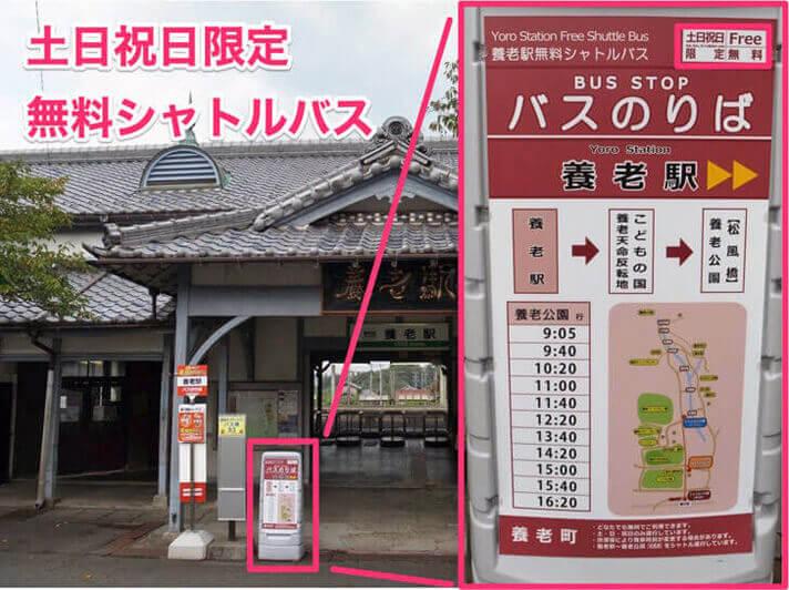 【バスルート】養老駅から養老天命反転地の行き方