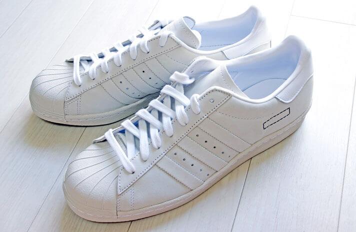 adidas(アディダス)のスーパースター 80s| 斜め上からの写真