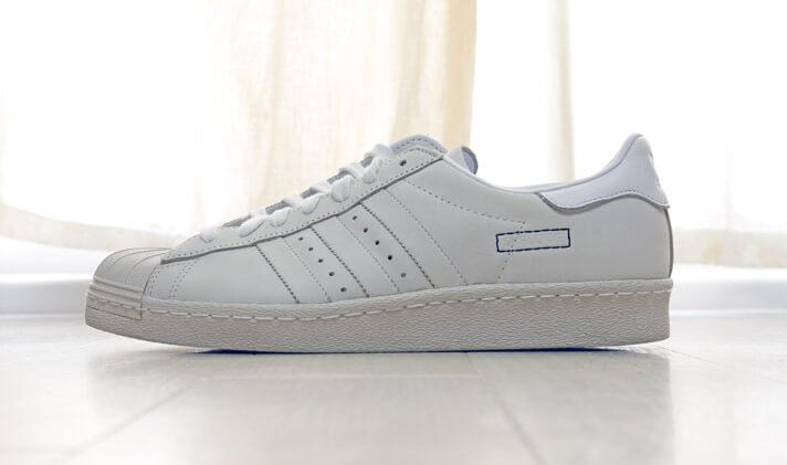 adidas(アディダス)のスーパースター 80s| 側面の写真