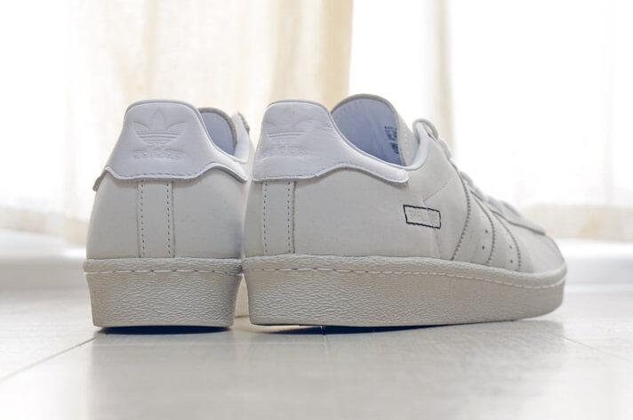 adidas(アディダス)のスーパースター 80s| 背面からの写真