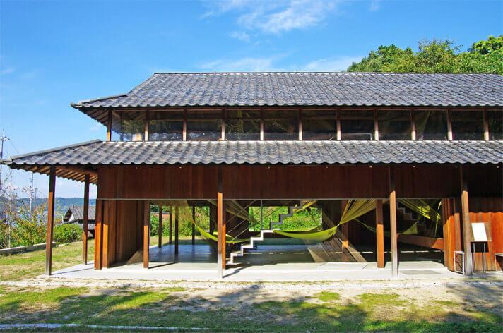 犬島「家プロジェクト」C邸 作品名「エーテル」