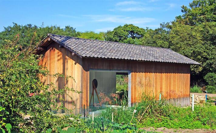 犬島「家プロジェクト」I邸 作品名「Self-loop」