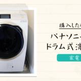「縦型洗濯機」から「パナソニック(Panasonic)のドラム式洗濯機」に買い替え。購入の決め手と注意点まとめ。