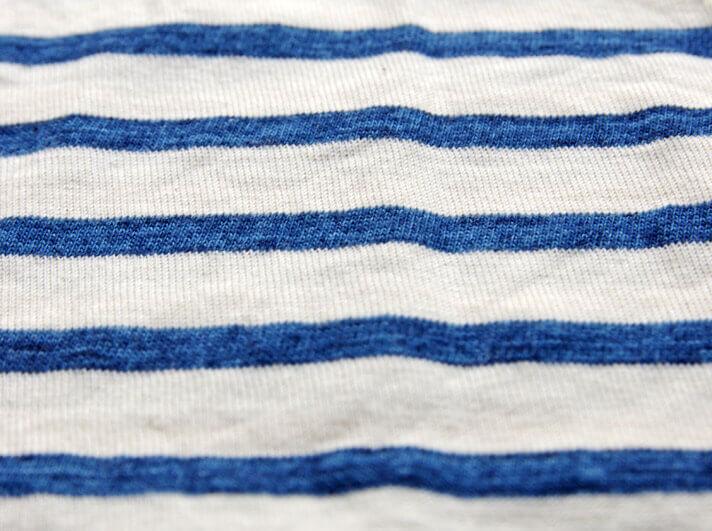 Curly(カーリー) のBRUSH BORDER TEE( ブラッシュ ボーダー Tシャツ)|ボーダー柄はスペック染糸を採用