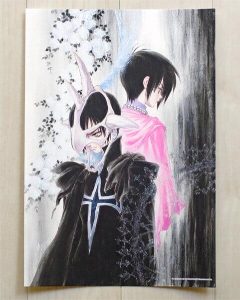 いのまたむつみ展 -テイルズ オブ デスティニ- リオン・マグナス&ジューダスのアートプリント