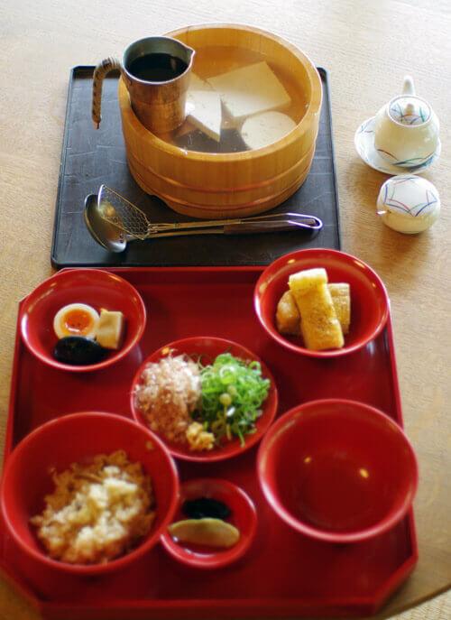 神勝寺 禅と庭のミュージアム|湯豆腐
