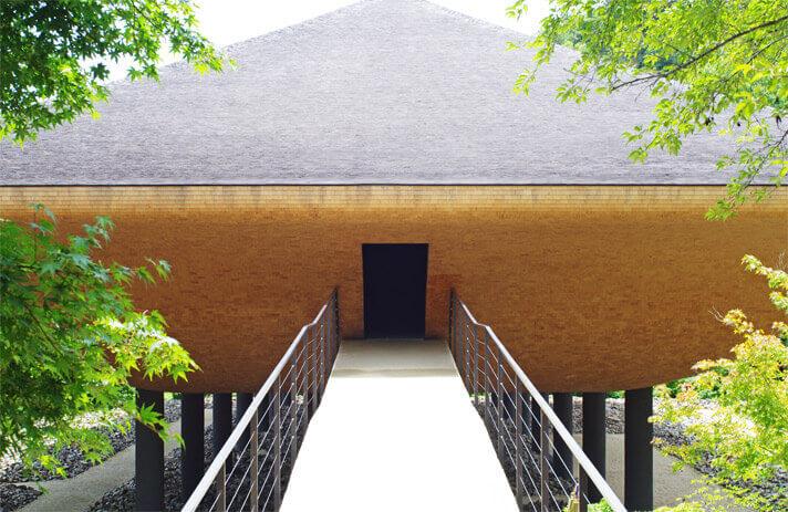 神勝寺 禅と庭のミュージアム|洸庭の入り口