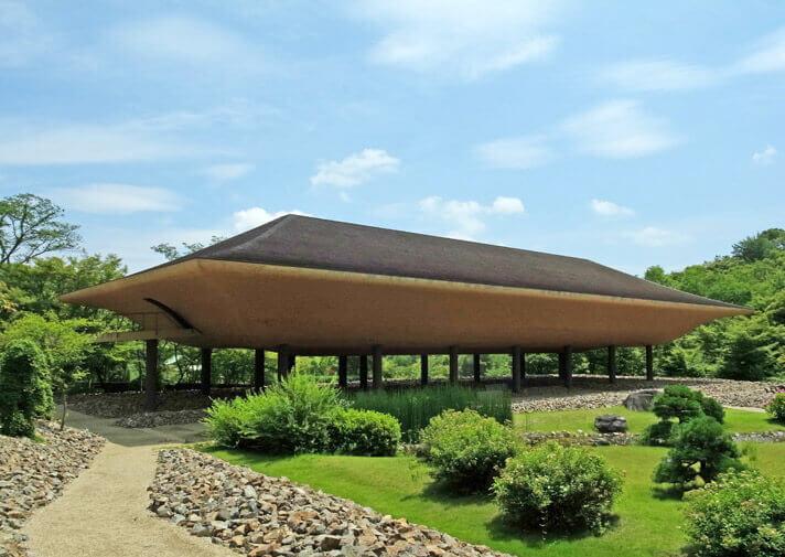 神勝寺 禅と庭のミュージアム|洸庭の全景