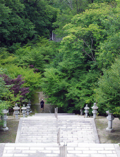 神勝寺 禅と庭のミュージアム|無明院からの景色