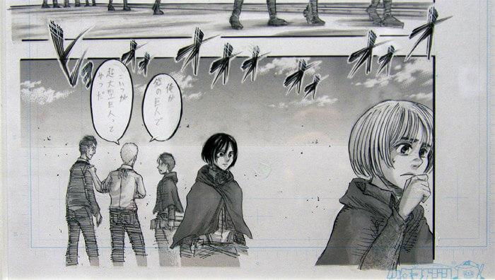 『進撃の巨人展FINAL』を写真で振り返り in 大阪・ひらかたパーク|ライナーがエレンに正体を明かすシーン