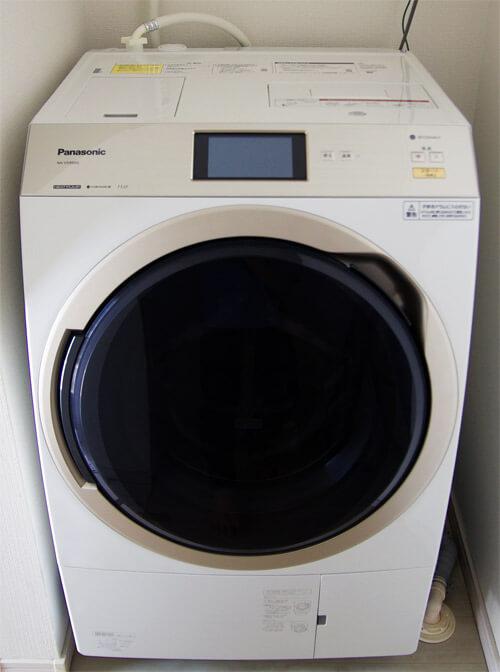 パナソニックのドラム式洗濯機(NA-VX9900)を購入