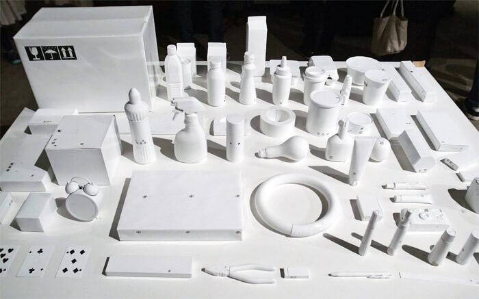 デザインあ展 in 滋賀(佐川美術館)|展示作品「マークだけの群れ」