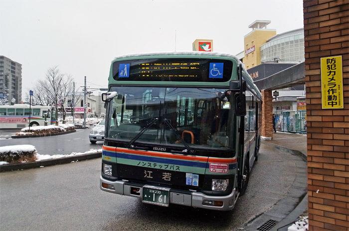 江若交通(琵琶湖大橋線)の路線バス