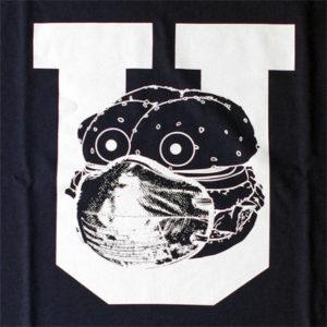 UNDERCOVER(アンダーカバー)の「STAY HOME Tシャツ」|前身頃にプリントされたグラフィック
