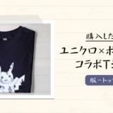 【ユニクロ-UT】現代アーティストダニエル・アーシャムがグラフィックを担当したポケモンとのコラボTシャツを購入