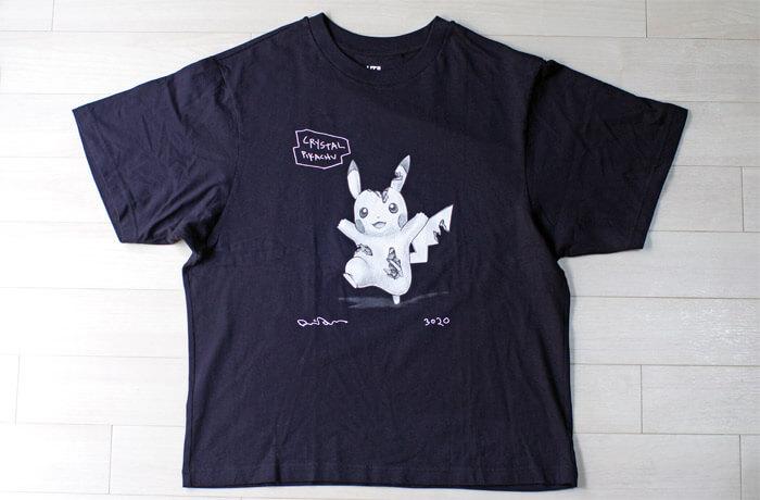 【ユニクロ-UT】ダニエル・アーシャムとポケモンのコラボTシャツ|前面