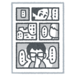 よつばと!原画展 in 宝塚市立手塚治虫記念館|よつばと!のコマ割りはオーソドックス
