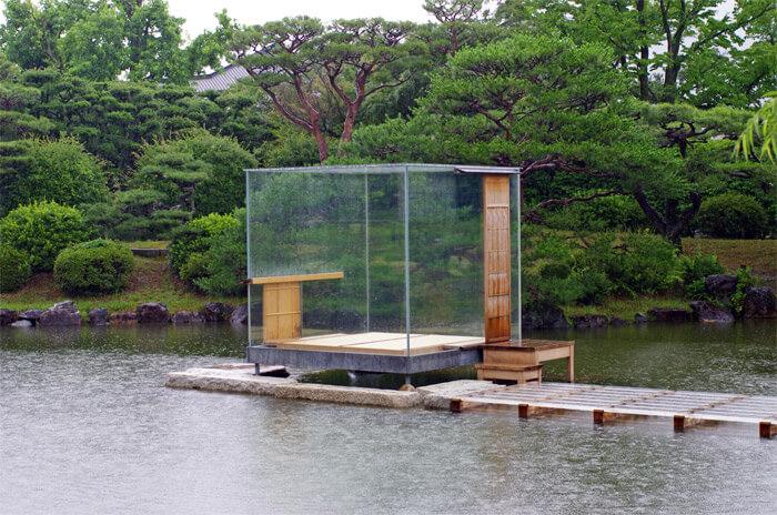 京都市京セラ美術館|硝子の茶室・聞鳥庵(モンドリアン)