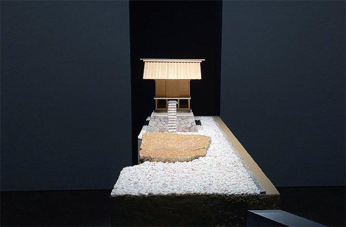 杉本博司《直島・護王神社》|模型