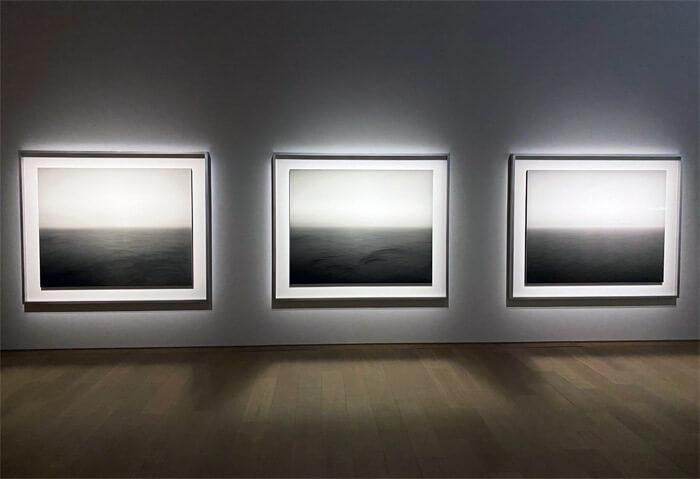 杉本博司《海景》|正面からの写真