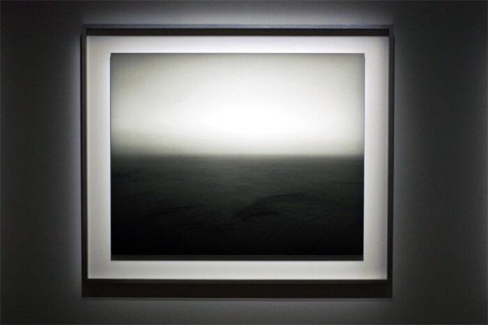 杉本博司《海景》|アップの写真