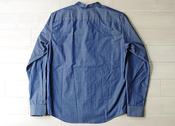 【メンズおすすめブランド】masao shimizu(マサオ シミズ)|2016ssの衿切り抜きシャツ|背面