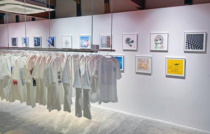 【アートとTシャツと私】アートギャラリー haku kyotoの内観