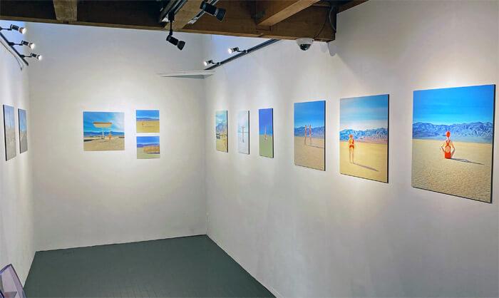 マーリア・シュヴァルボヴァー Lost in the Valley in 芦屋画廊 kyoto|写真展の様子1