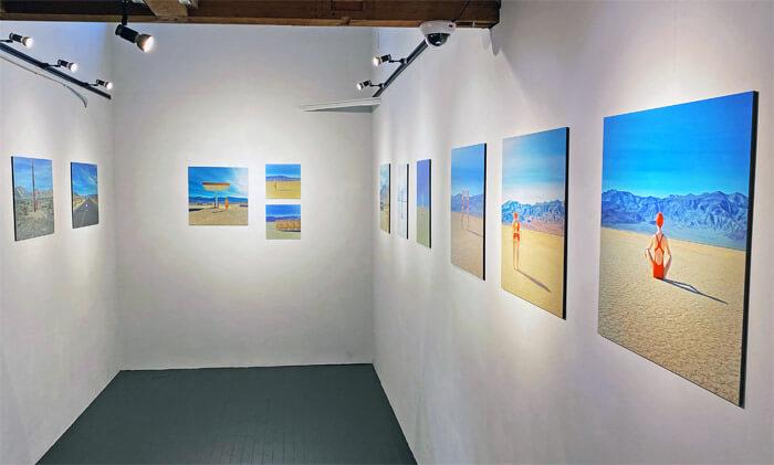 マーリア・シュヴァルボヴァー Lost in the Valley in 芦屋画廊 kyoto|写真展の様子2