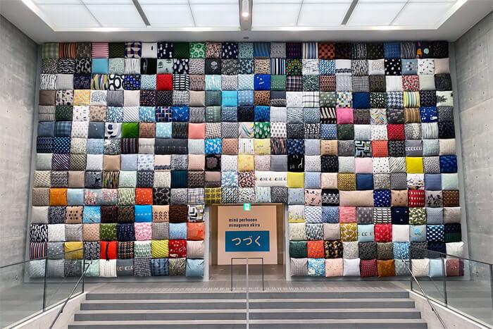 ミナペルホネンの展覧会「皆川明 つづく」 in 神戸・兵庫県立美術館|入り口の写真