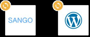 SANGOとWordPressのアップデートイメージ
